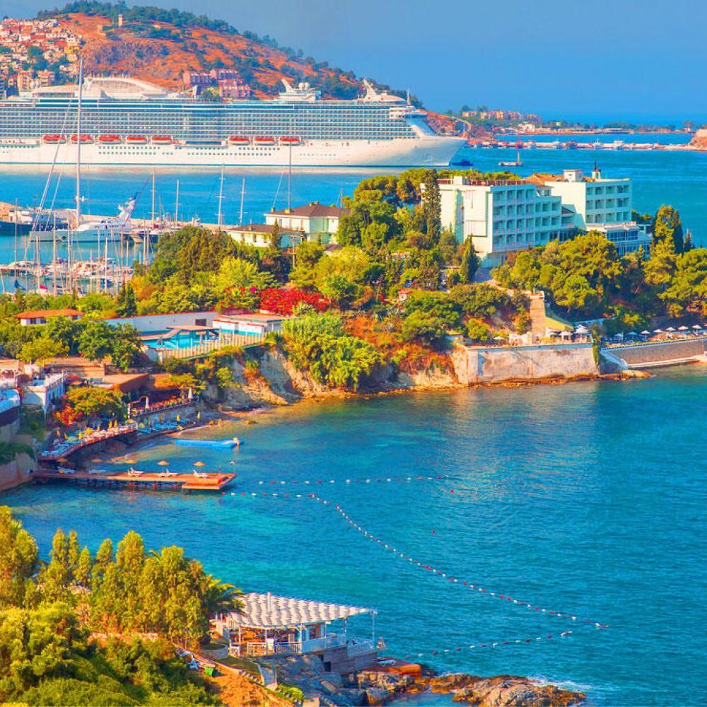 İzmir - Kuşadası - Efes - Şirince - Çeşme - Alaçatı - Eski Foça Turu